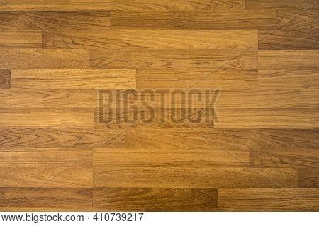 Wooden Laminate Pattern Texture Background. Wood Floor Parquet Brown Colour Hardwood