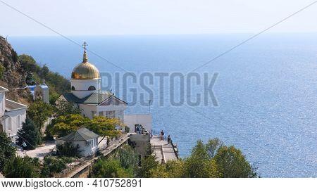 St. George Monastery Is Located On Cape Fiolent: Sevastopol, Crimea - September 17, 2020