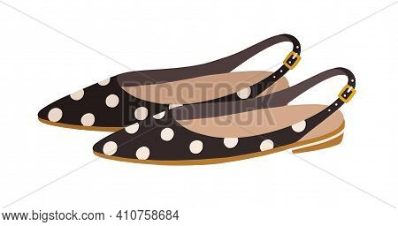 Elegant Womens Sandals With Closed Pointed Toe And Buckled Ankle Straps. Summer Fashion Footwear Or