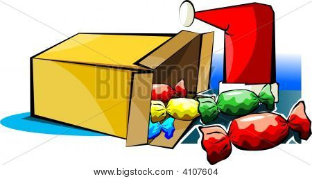 Gift Box With Sweets