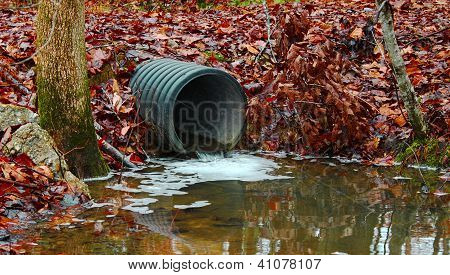 waste water drainage pipe