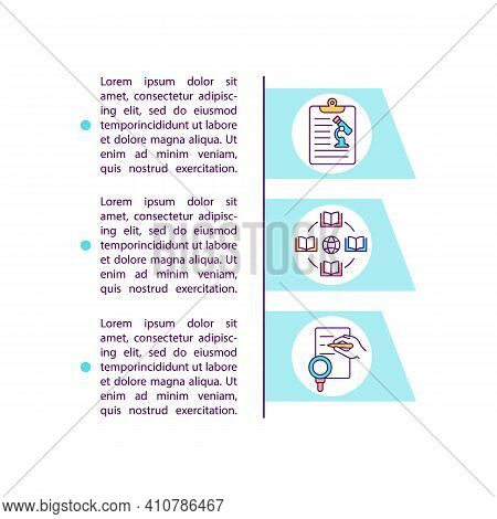 Secondary Research Sources Concept Icon With Text. Analyzing All Scientists Researching Materials. P