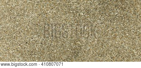 Panorama Of Brown Cement And Gravel  Floor Texture And Background Seamless