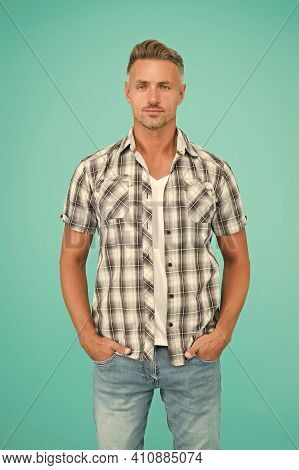 Barber Hairdresser. Barber Shop Concept. Perfect Skin Tone. Skin Care. Man Good Looking Model. Hands