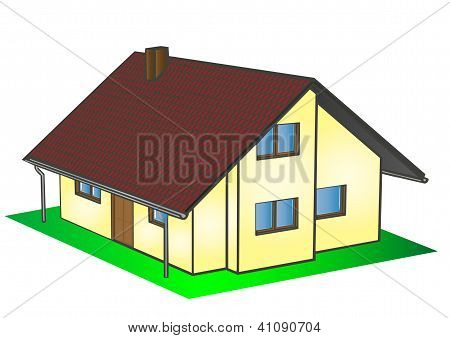 Vector Illustrations House