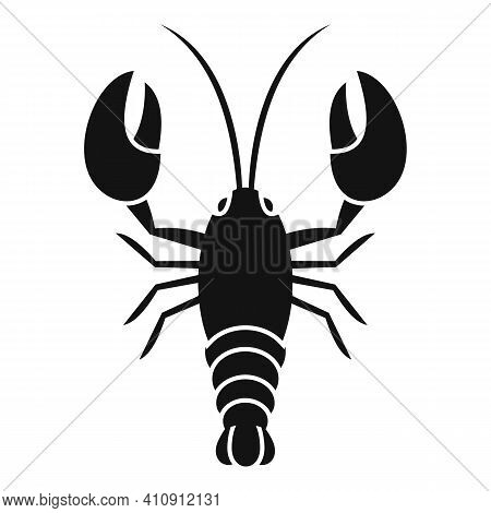 Lobster Food Icon. Simple Illustration Of Lobster Food Vector Icon For Web Design Isolated On White