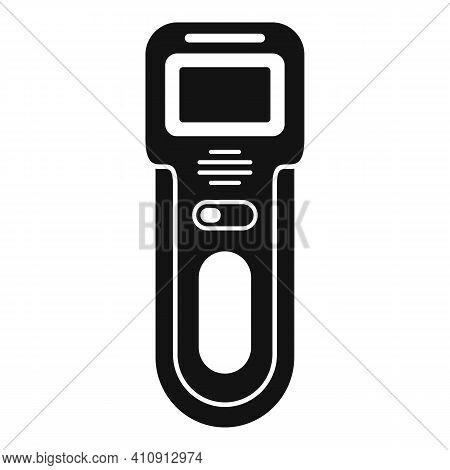 Body Metal Detector Icon. Simple Illustration Of Body Metal Detector Vector Icon For Web Design Isol