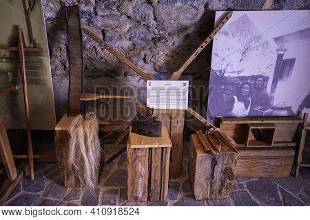 28 February 2021: Images From The Feldioara Fortress, Feldioara Commune, Brașov County, Was Built In