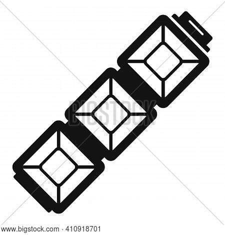 Gemstone Bracelet Icon. Simple Illustration Of Gemstone Bracelet Vector Icon For Web Design Isolated