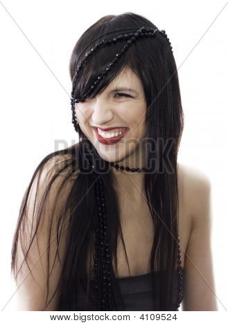 Smiling Beautiful Girl