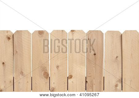 Light Wooden Feance