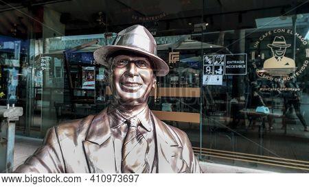 Carlos Gardel Sculpture, Montevideo, Uruguay
