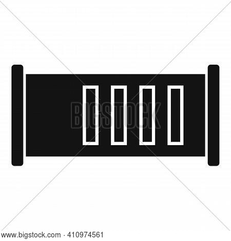 Ventilation Icon. Simple Illustration Of Ventilation Vector Icon For Web Design Isolated On White Ba