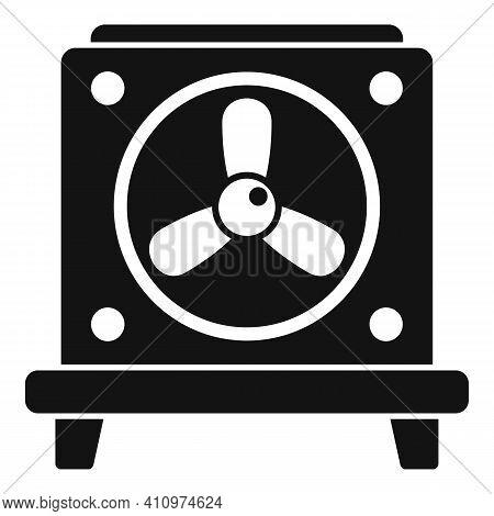 Ventilation Fan Stand Icon. Simple Illustration Of Ventilation Fan Stand Vector Icon For Web Design