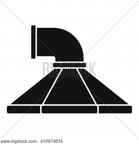 Kitchen Ventilation Icon. Simple Illustration Of Kitchen Ventilation Vector Icon For Web Design Isol