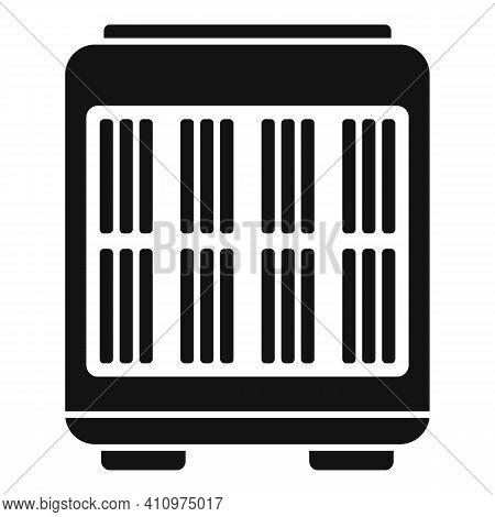Floor Ventilation Icon. Simple Illustration Of Floor Ventilation Vector Icon For Web Design Isolated