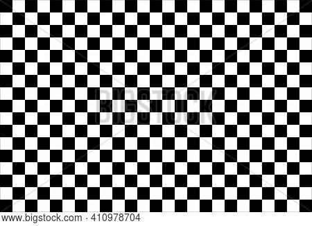 Checkered Flag Background Illustration. Race Background. Racing Flag Vector Illustration