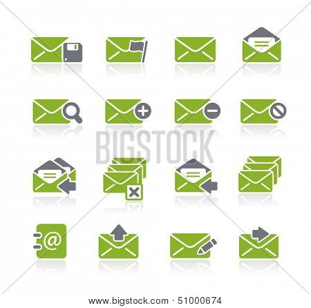 E-mail Icons // Natura Series