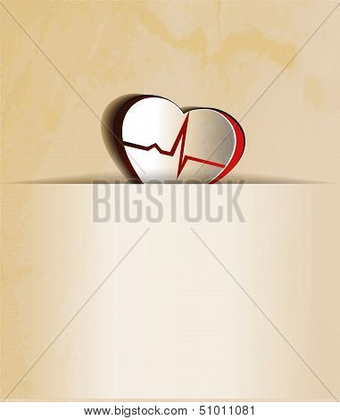 Heart And Cardiogram