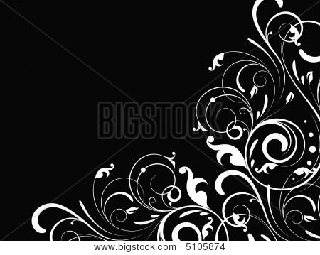 Floral Abstract Illustration.