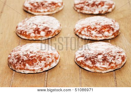 Traditional German Lebkuchen Gingerbread Cookies