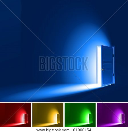 Light Through A Door