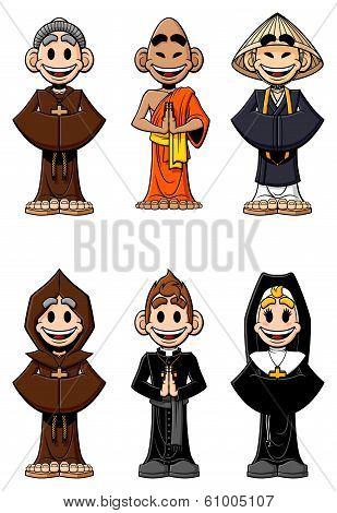 Set of religious