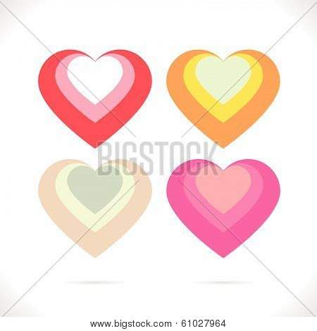 Nested hearts