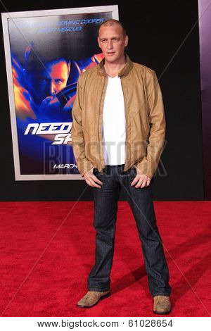 LOS ANGELES - MAR 6: Alan O'Neill at the premiere of DreamWorks Pictures' 'Need For Speed' at TCL Chinese Theater on March 6, 2014 in Los Angeles, California