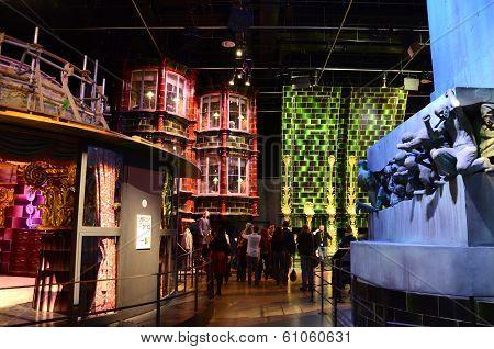 Tourists, Warner Bros. studio, London