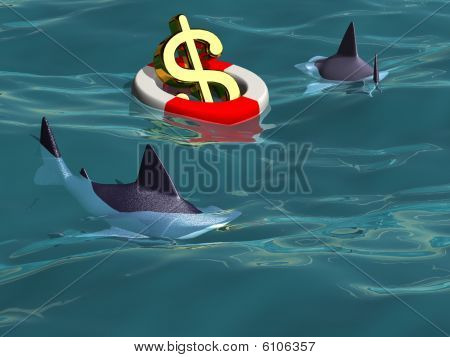 Saving The Dollar - Sharks Prey