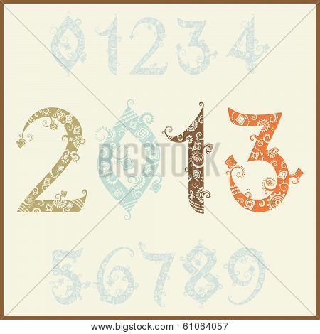 New year 2013 (two thousand and thirteen).