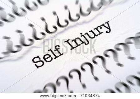 Self Injury Disease