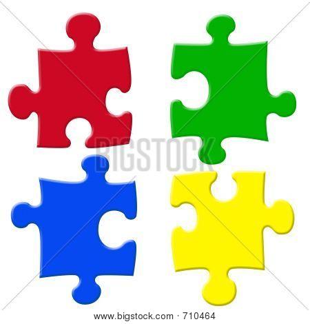 Colorful Jigsaws