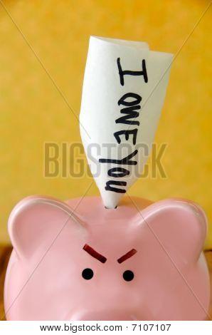 Angry Piggy Bank