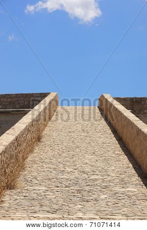 Fortress Of Fortezza In Rethymno. Crete. Greece