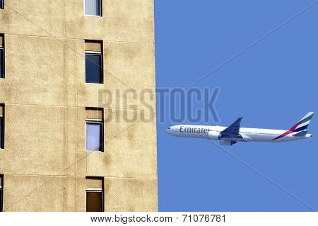 Airplane Of Emirates Airline