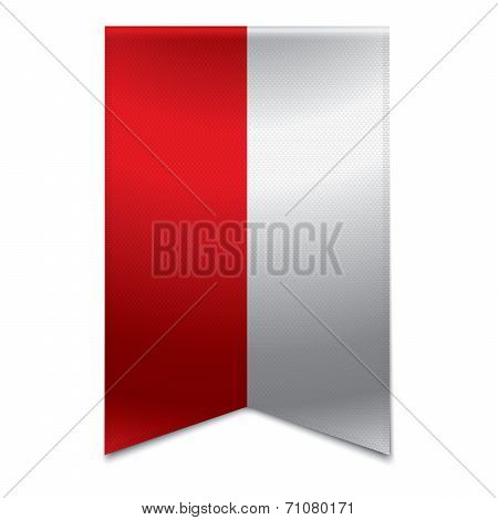 Ribbon Banner - Polish Flag