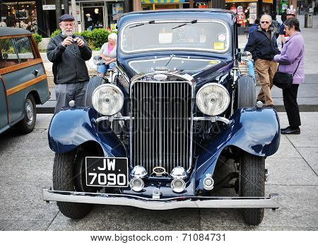 Sunbeam vintage car