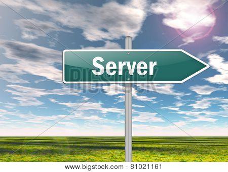 Signpost Server