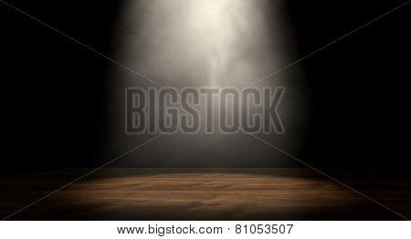 Spotlit Stage
