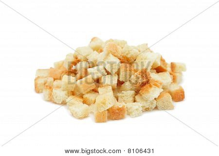 Pile Of Dried Crust, Isolated