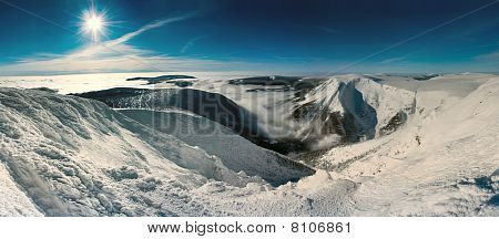 Mountains scenic