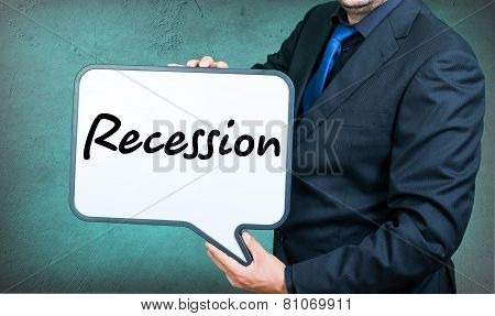 Recession Businessman