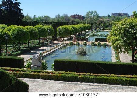 Palace gardens, Cordoba.