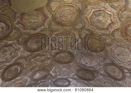 Stabian Thermal Baths ceiling detail