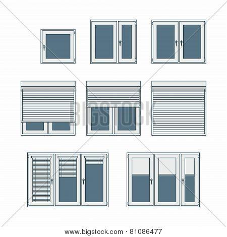 Plastic window
