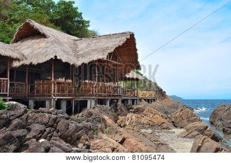 Hut Built On Stilts