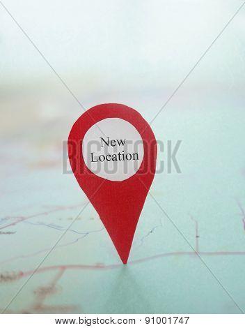 Map New Location