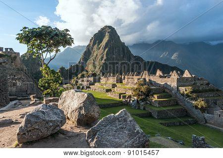Machu Picchu, Andes, Sacred Valley, Peru